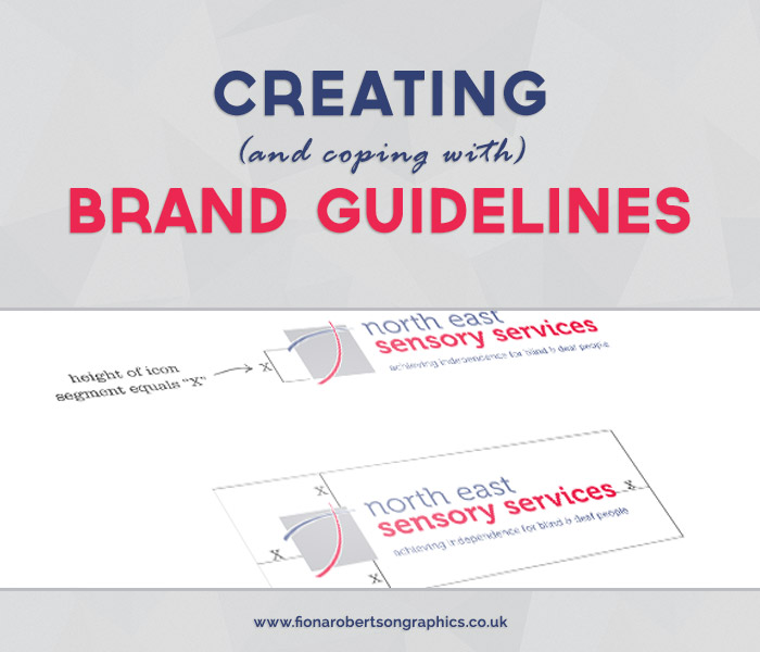 Creating and coping with brand guidelines
