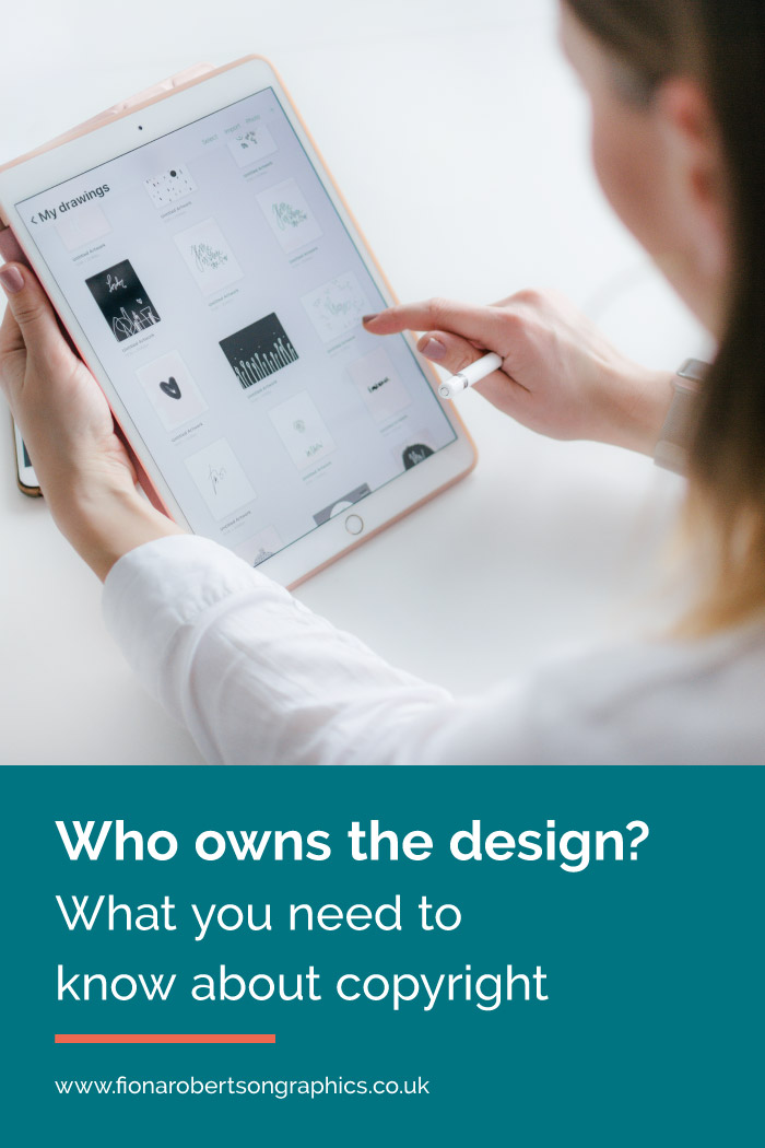 Who owns a design, the client or the designer? You might assume that once the project is finished and paid for, you own the full rights to it, but do you? Read on to discover what you need to know about copyright.