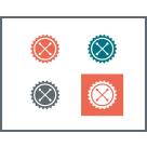 Super Logo Design Package: Ideal for small businesses, rebrands or more complex/open design briefs