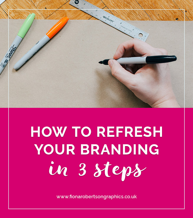 If your branding isn't working for you anymore, you might be planning a complete rebrand. But a rebrand is a big job. It can be expensive too and you might not need all that work. A brand refresh could be what you need instead to get back on track. Here are 3 steps to refresh your branding. #logodesign #branding #rebrand