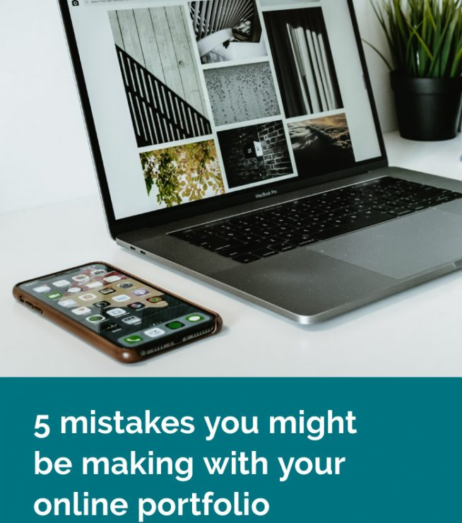 Is your portfolio attracting the right kind of clients and projects you're thrilled to be working on? If not, here are 5 mistakes you might be making, plus how you can fix them.